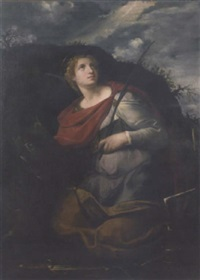 saint catherine of alexandria by innocenzo tacconi