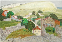 landscape from balchik by octavian angheluta