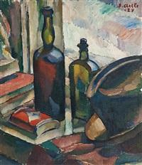 still life with bottles by ilmari aalto