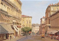 view of montpellier, france by niccolo d'ardia caracciolo