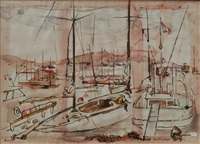 yachts, cowes by louis kahan