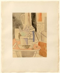 nature morte au journal by fernand léger
