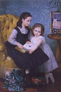 grandpa's portrait by ferdinand bassot