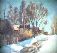 jour d'hiver by nicolai yablokov