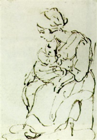 a mother and child by christina chalon