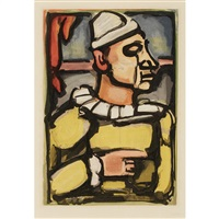 amer citron (from cirque de l'etoile filante) by georges rouault