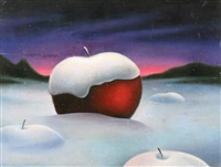 apples in the snow by soren arutyunyan
