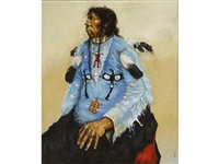 ghost dancer, arapaho by paul pletka