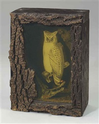 untitled (owl habitat) by joseph cornell