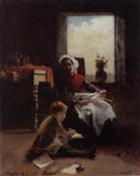 lessons from mother by ferencz (franz) paczka