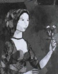 ofrena con flores by miquel ibarz
