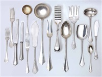 a flatware service (set of 181) by bachruch