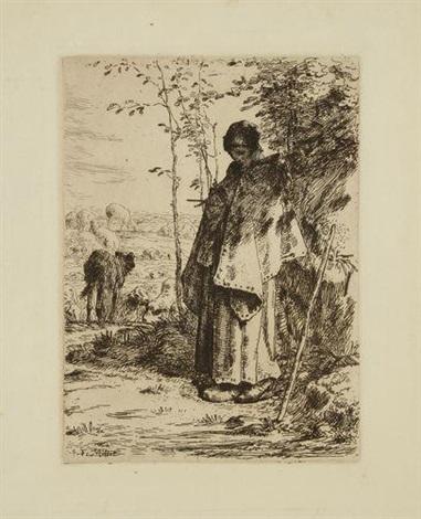 la grande bergère by jean françois millet