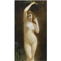 standing nude by kleoniki aspriotou