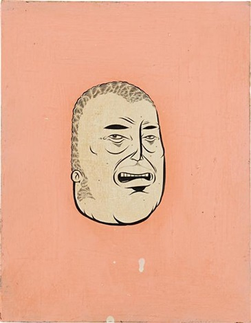 untitled head by barry mcgee