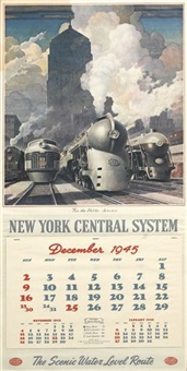 new york central system/for the public service. calendar by leslie ragan