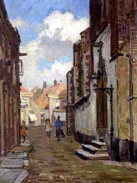 figures in a town by charles dankmeijer