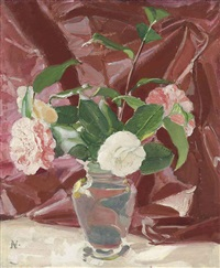 camellias by william nicholson