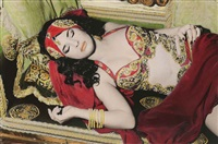 natacha sleeping, cairo by youssef nabil