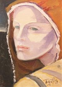 peasant girl by turgut atalay