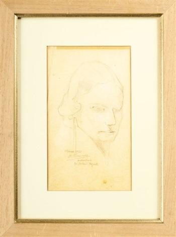 portrait de mademoiselle ingal ottawa by alfred louis courmes