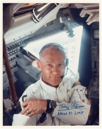 armstrong snaps aldrin inside the lunar module by neil armstrong