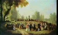 scene de campagne by guillaume françois colson
