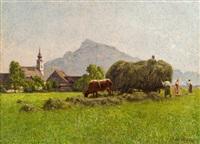 motiv aus salzburg by stefan simony