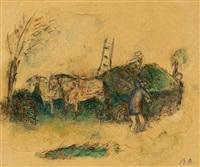 le char d'herbes by rené (victor) auberjonois