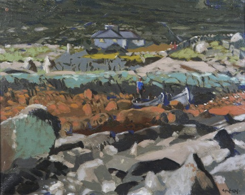 connemara coast by maurice macgonigal