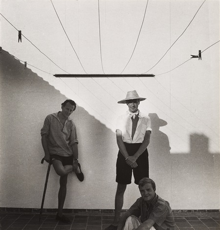 cecil beaton david herbert and truman capote morocco by cecil beaton