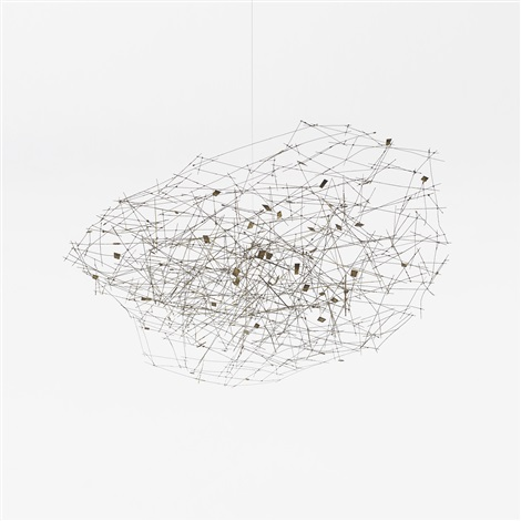 untitled cloud by harry bertoia