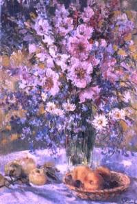 le bouquet des lupins by kapitolina rumyantseva