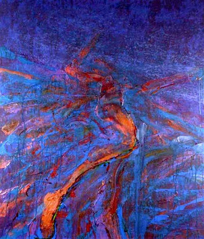 reclining figure moving 4 by john graham coughtry