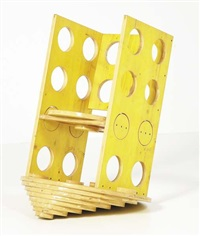 prototype (from solidi series; chair) by cesare leonardi