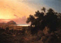 the gulf of palermo with monte pellegrino by joseph firmenich
