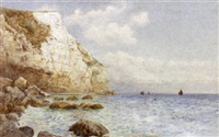 beer head from the beach by fritz b. althaus