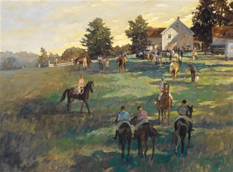 a gathering near alfred maine by john gable