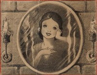 snow white (sketch) by disney studios