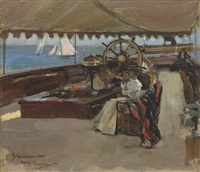 on the clyde by john lavery