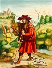 homme au chapeau rouge by andré quellier
