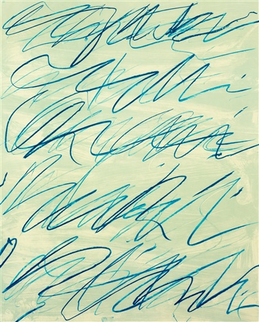 roman notes vi by cy twombly