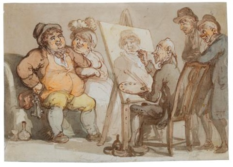 genius crumpled by thomas rowlandson