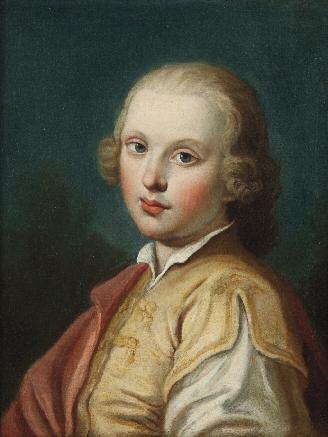 ritratto di giovane by pietro antonio rotari