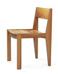 rare chair, model no. 266 by martha huber-villiger