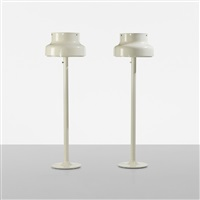bumling floor lamps (pair) by anders pehrson