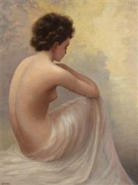 femme nue de dos by jean jannel