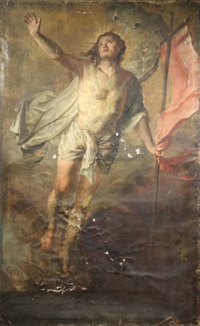 christ en gloire by bernard joseph wamps