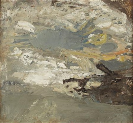 haystack (+ summer field, verso) by joan kathleen harding eardley