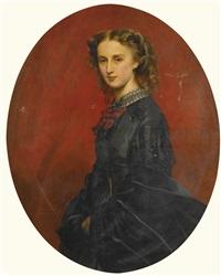 wanda furstin von und zu putbus (1837-1867), née freiin von veltheim-bartensleben by franz xaver winterhalter